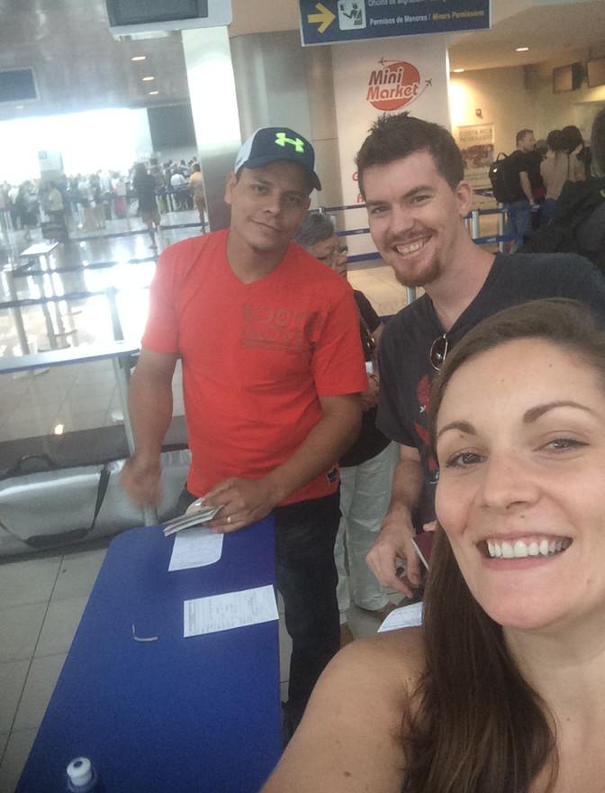 Matt, Amy and Jesus