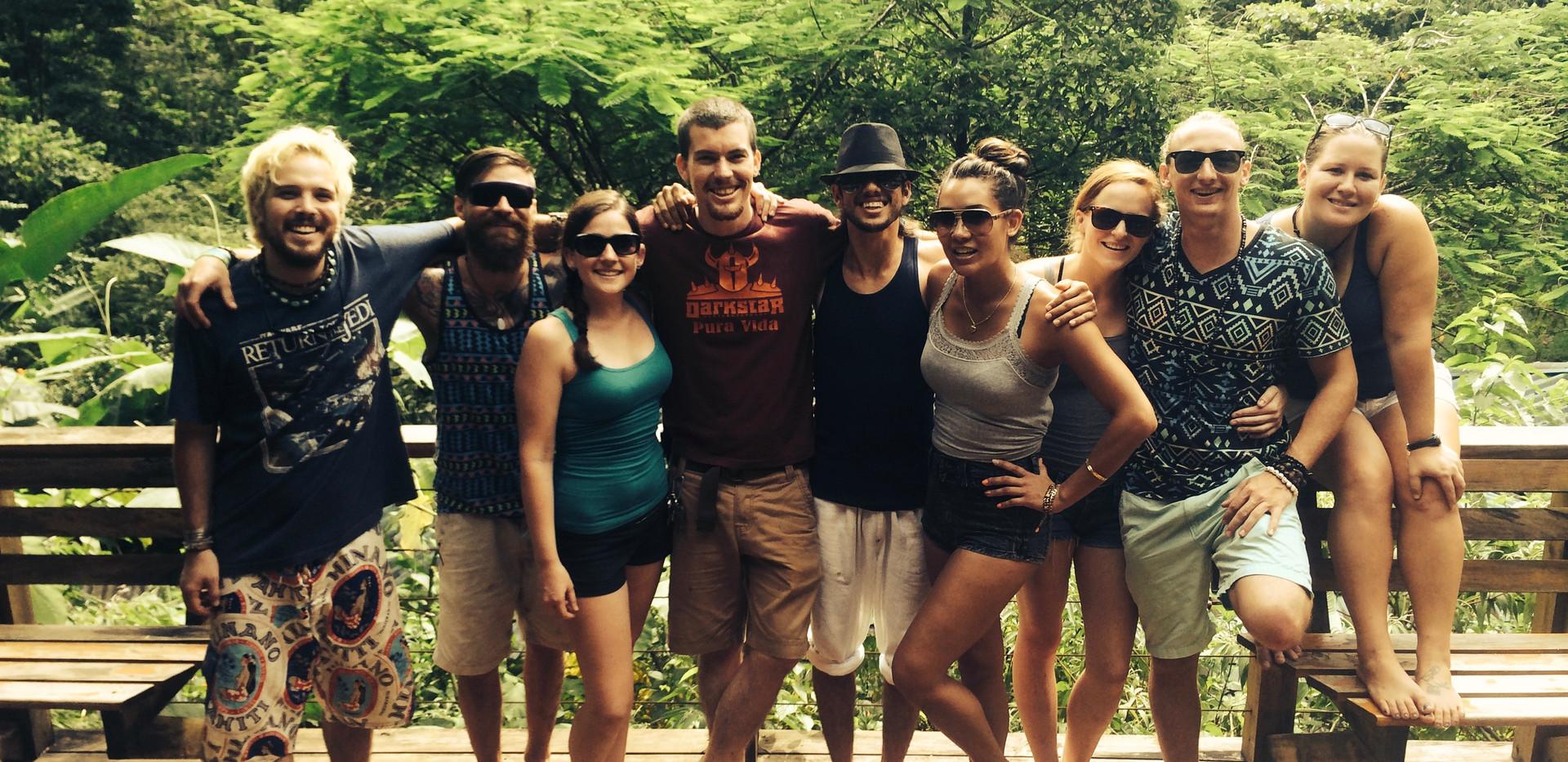 Matt and friends