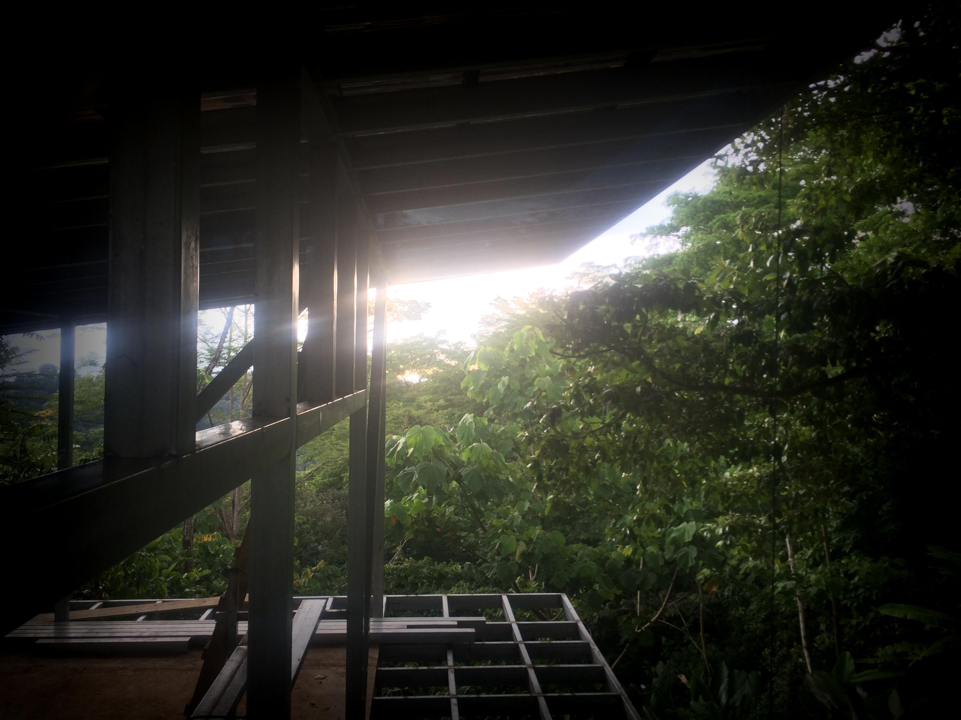 back overhang