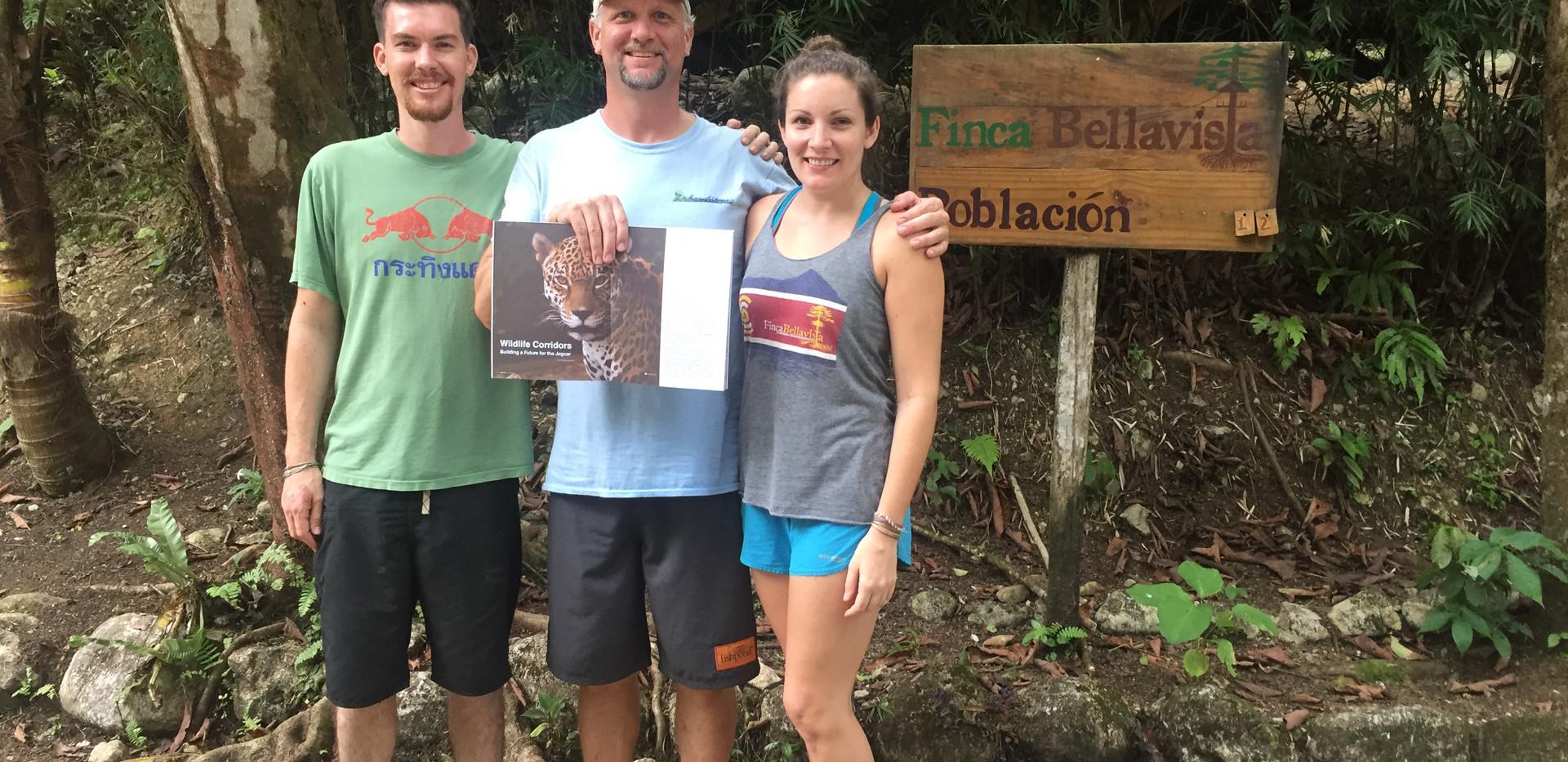Matt, Amy and Jan Schipper