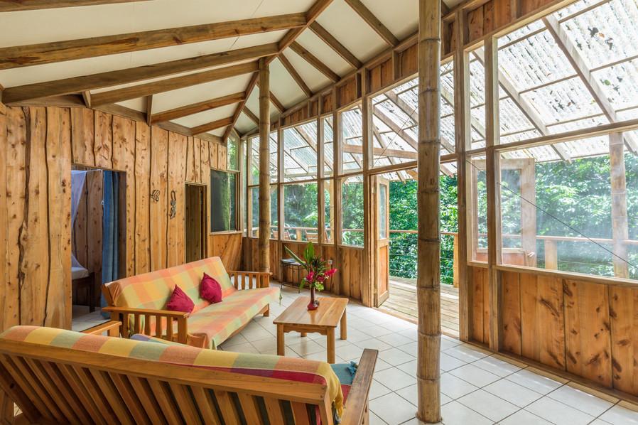 Living space at Mariposa
