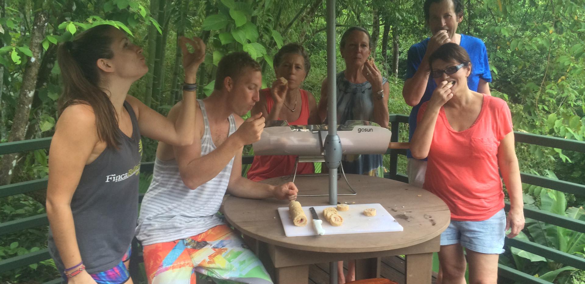 Making solar powered bread
