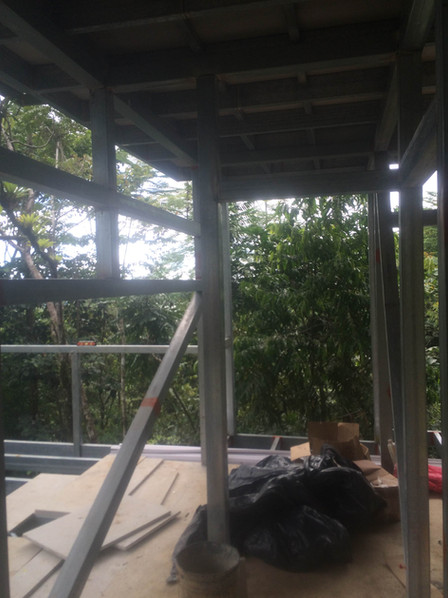 Steel Frame for Guest Quarters
