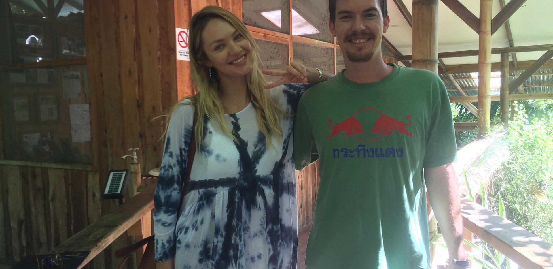 Matt and Candice Swanepoel