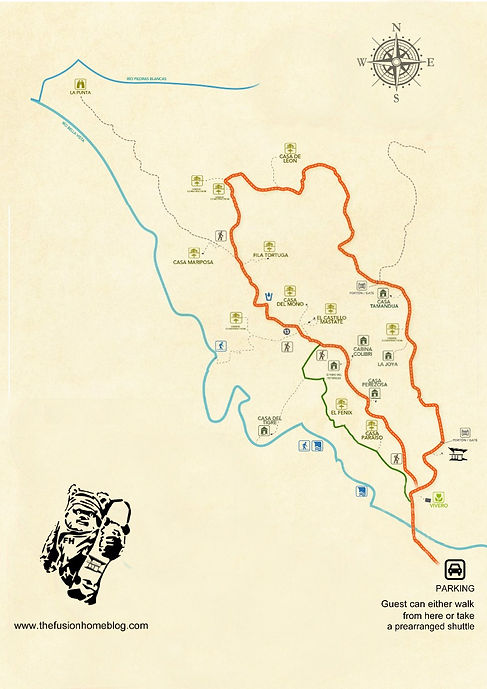 Finca Bellavista community map