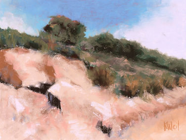 Soft pastel by Kathleen Weil Southern California artist