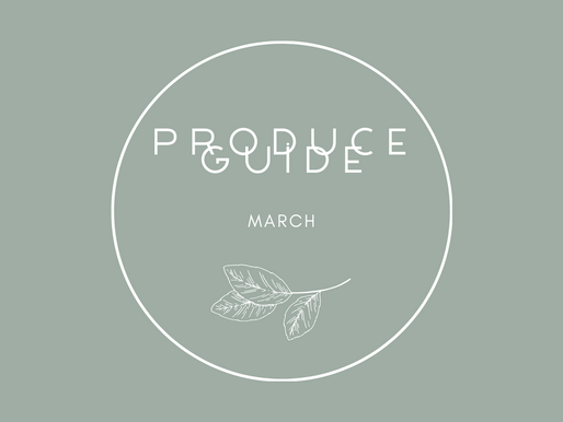 March Produce Guide