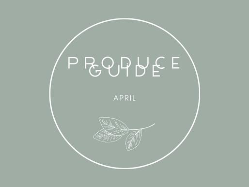 April Produce Guide