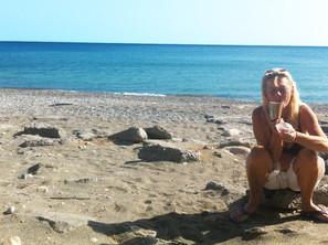 Ny jul, Nya möten och nya tankar - Mitt älskade Kreta.