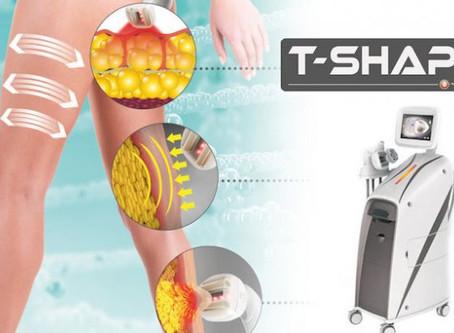EFFECTIEVE CELLULITE BEHANDELING met T-SHAPE