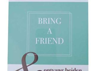 Bring a Friend en ontvang 20% korting