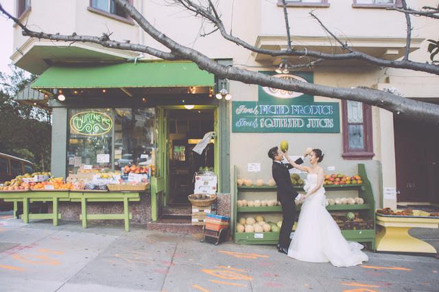 Ann&David小巧親密的後院婚禮(San Francisco)