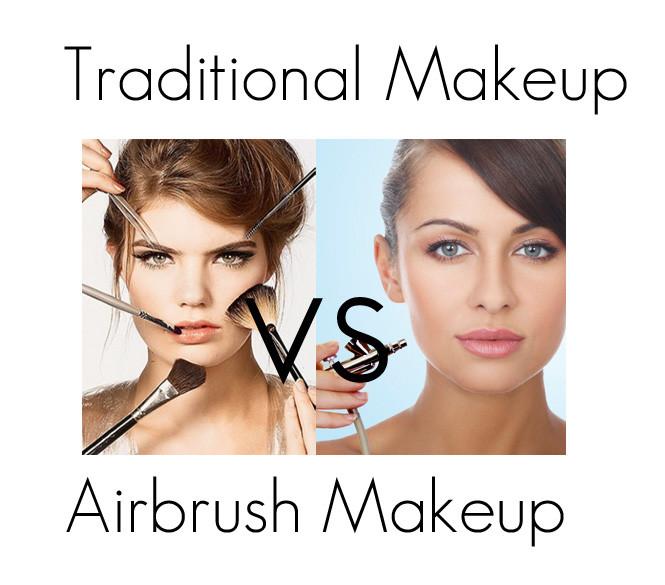 Traditional Makeup vs Airbrush Makeup 噴槍彩妝 or 傳統彩妝?