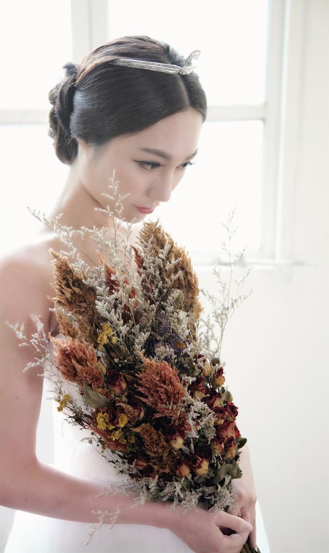 Mimi's bridal style