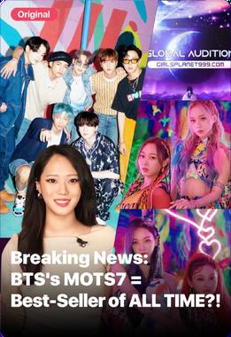 Breaking News : BTS's MOTS7=Best-Seller of ALL TIME?!