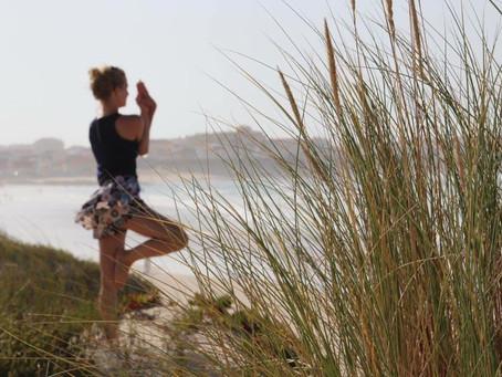 Yoga gegen Nacken- und Schulterschmerzen