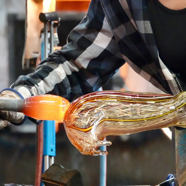 Making a glass bunny