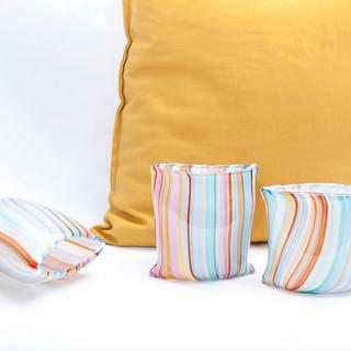 Cushion vases
