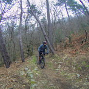 il single track finale, in inverno