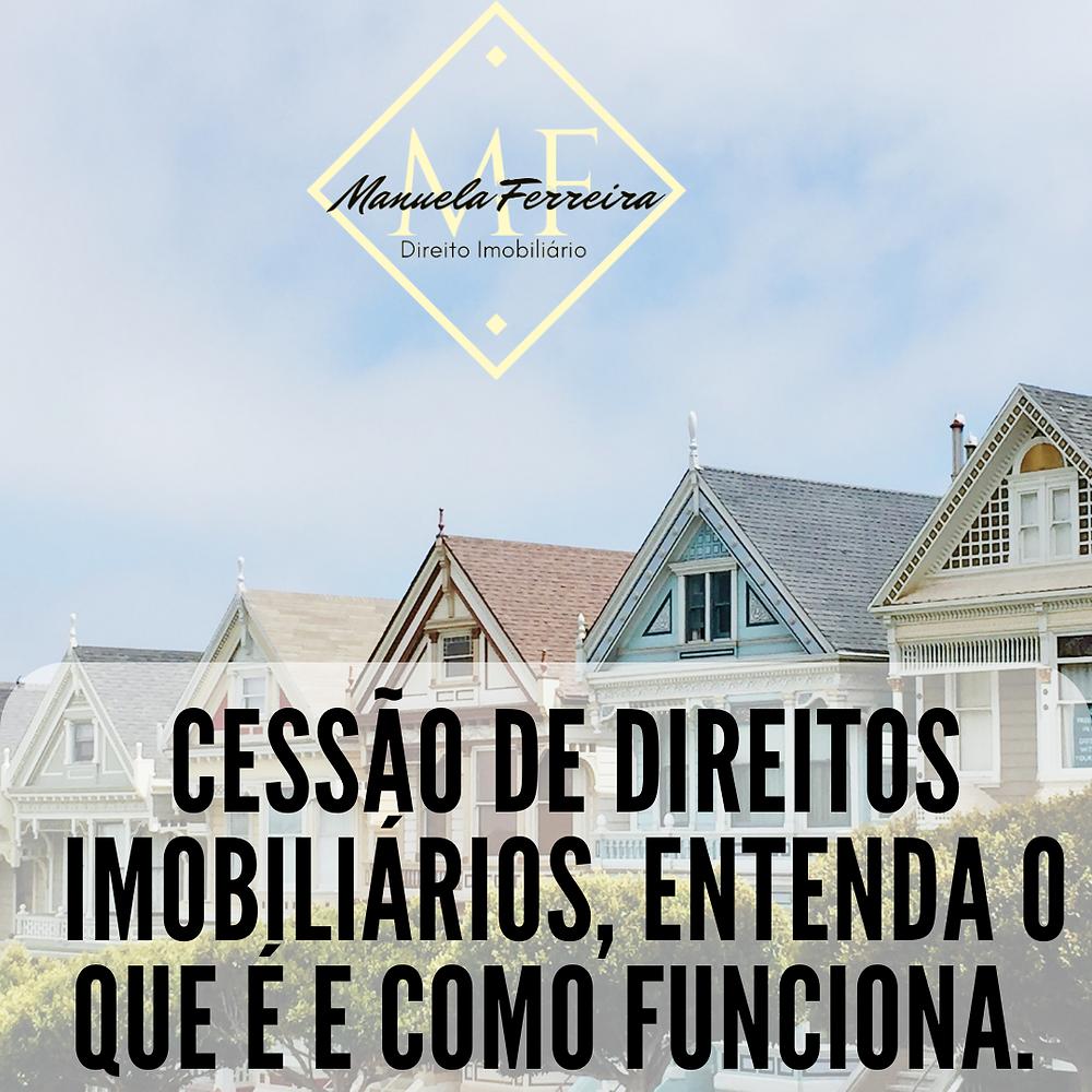 várias casas coloridas uma ao lado da outras. título da imagem: Cessão de direitos imobiliários, entenda o que é e como funciona.