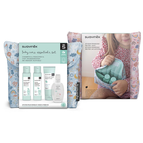 Suavinex Baby Care Essentials Set Blue Forest