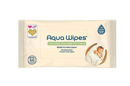Aqua Wipes Travel Pack