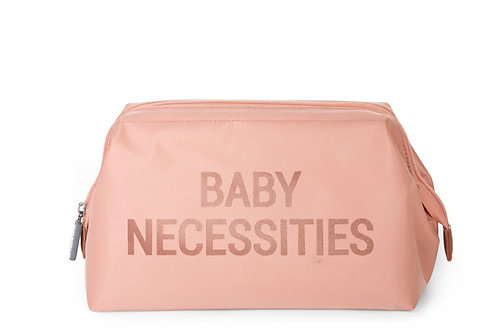 Childhome Baby Necessities Toiletry Bag Pink Copper
