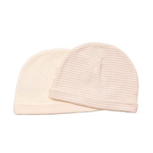 Pink Baby Hats Stripe 2pk