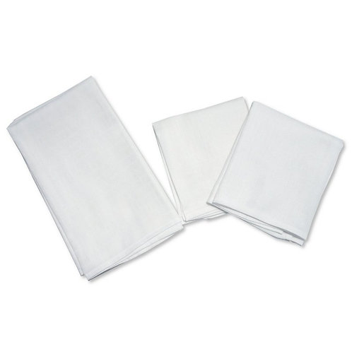 Muslin Squares White 6 Pack