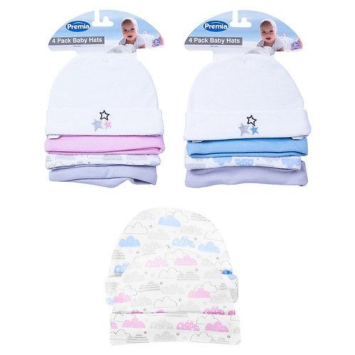 Baby Hats 4pk