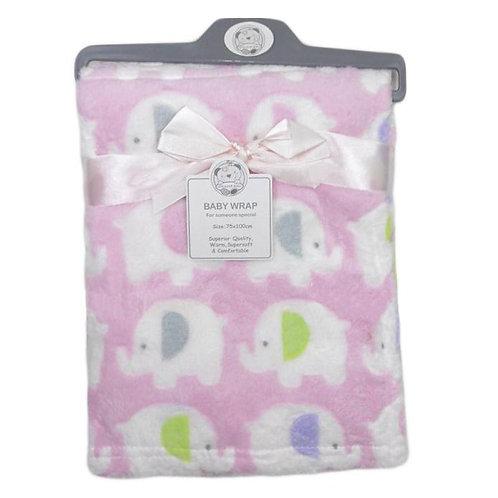 Baby Wrap Pink Elephant