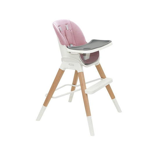 Olmitos Wooden Highchair Pink