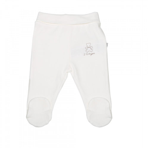 Organic Baby Footed Pants 50cm