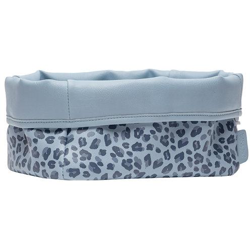 Bebe-jou Nursery Basket Leopard Blue