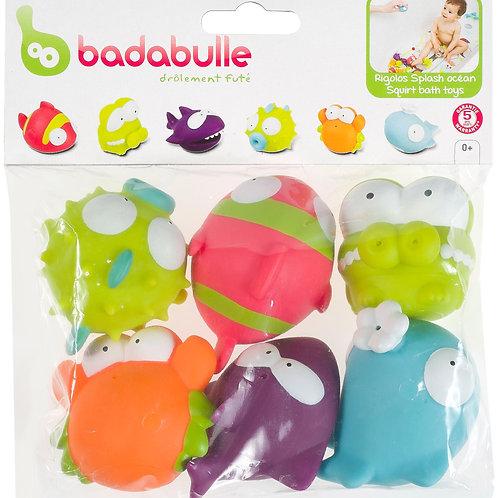 Badabulle Bath Toys x6