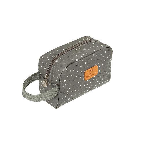 Pirulos Baby Toiletry Bag Grey Stars