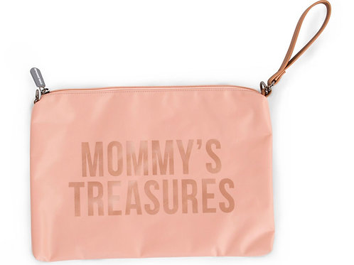 Mommy's Treasures Clutch Pink
