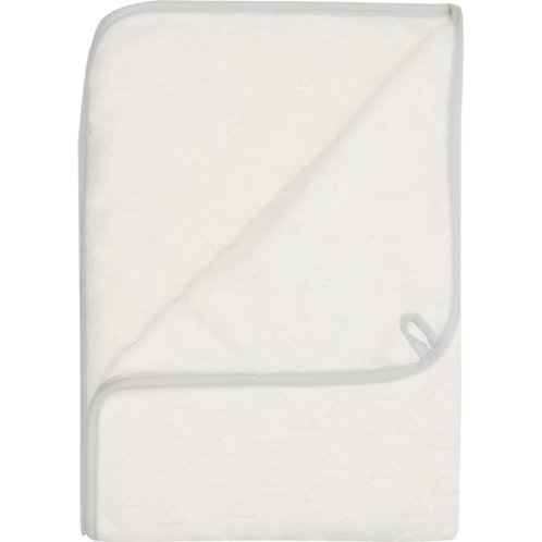 Baby Multi Towel Fabulous Shadow White