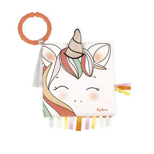 Kaloo Happy Unicorn Soft Book