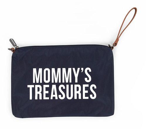 Mommy's Treasures Clutch Navy