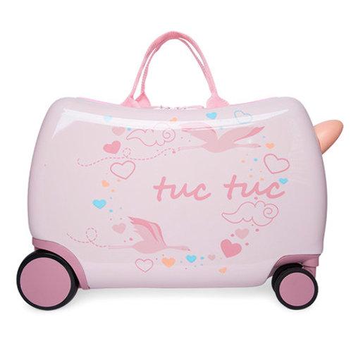 Tuc Tuc Travel Trolley Suitcase Lady Bird