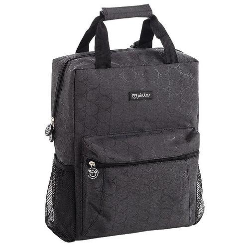 Pirulos Backpack Circles Black