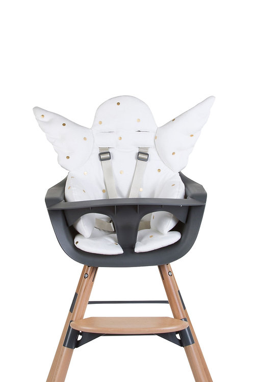 Childhome Evolu Angel Seat Cushion Gold Dots