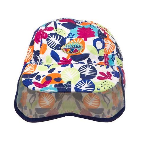 Tuc Tuc Sun & Swim Hat White Tropic