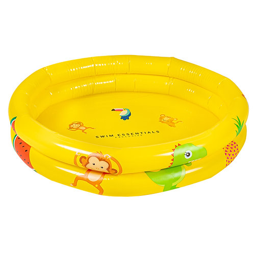 Inflatable Baby Swimming Pool 60cm Yellow