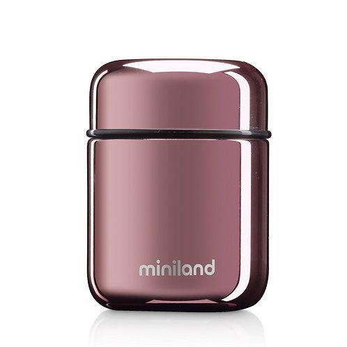 Miniland Deluxe Mini Food Flask Rose