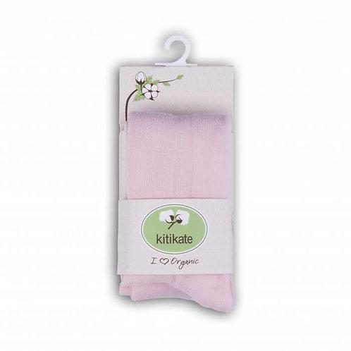 Organic Baby Tights Pink