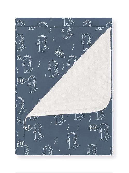 Bimbi Casual Dino Pram Blanket