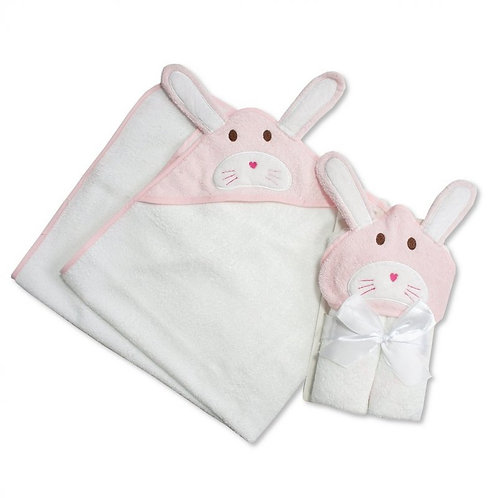 Baby Hooded Towel Bunny