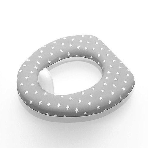 Olmitos Toilet Seat Reducer Grey Stars